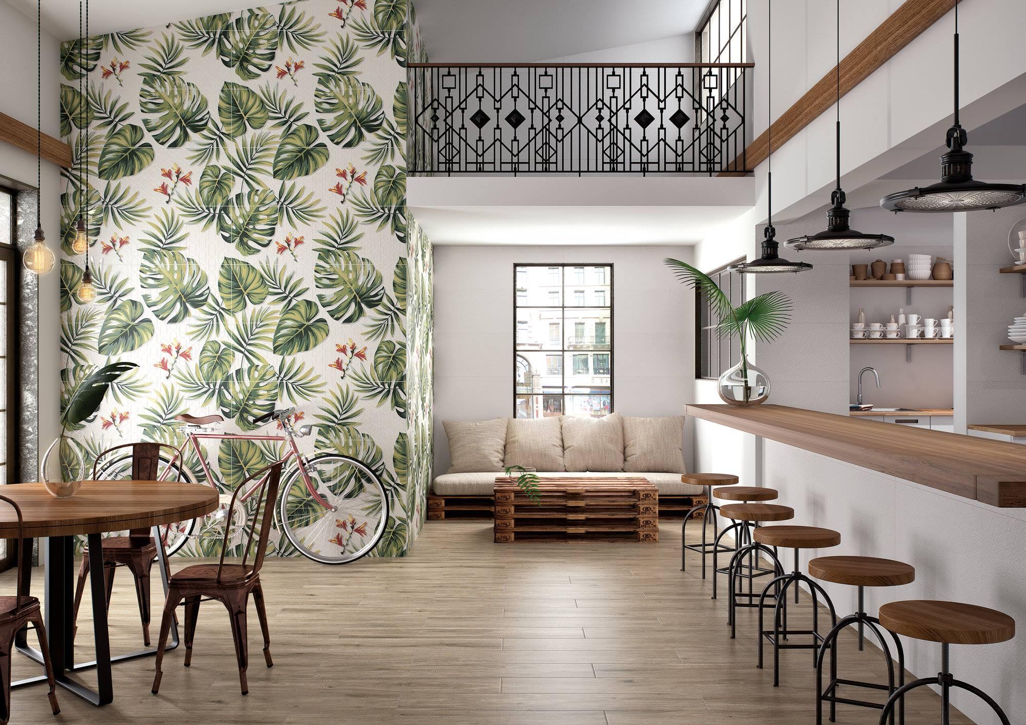 Płytki kuchenne - struktury, 3D i dekory