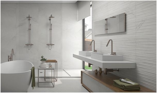 Elementy natury w łazience